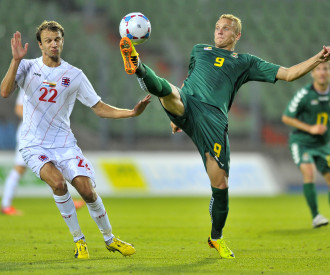 LUXEMBOURG vs LITHUANIA friendly game Luxembourg 2013