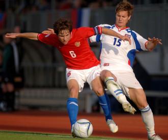 Czech Republic vs Russia UEFA under-17 Championship final