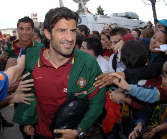 Training of the national team of Portugal, Luxembourg 2006