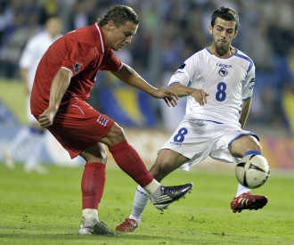 Luxembourg vs Bosnia Herzegovina Euro 2012 Group D qualification