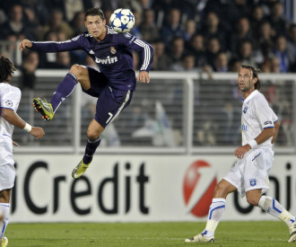 AJ Auxerre vs Real Madrid UEFA Champions League Group G