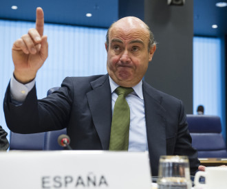 Spanish Minister of Economy Luis de Guindos