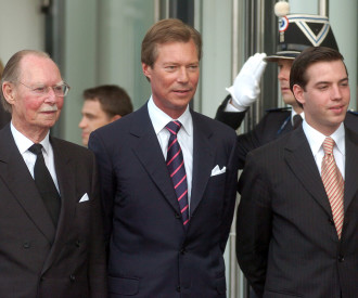Luxembourg Grand Duke Jean, Grand Duke Henri, Prince Guillaume