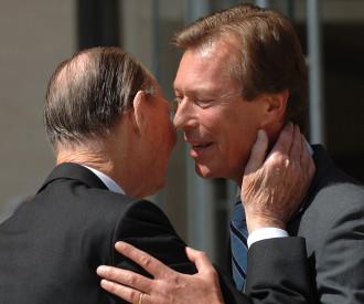 Grand Duke Jean and Grand Duke Henri