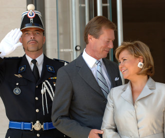 Luxembourg Grand Duke Henri, Grand Duchess Maria Teresa