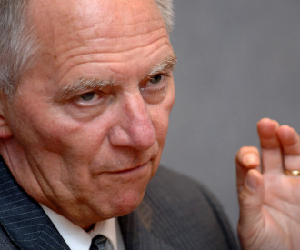 German Interior Minister Wolfgang Schauble