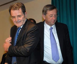 Italian Prime Minister Romano Prodi, Luxembourg Prime Minister Jean Claude Juncker