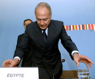 Ahmed Ali ABOUL GHEIT minister of foreign affairs of Egypt
