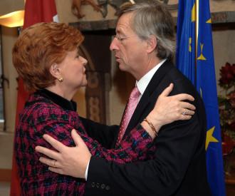 Latvian President Vaira Vike-Freiberga