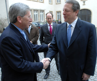 US Former Vice President Al Gore