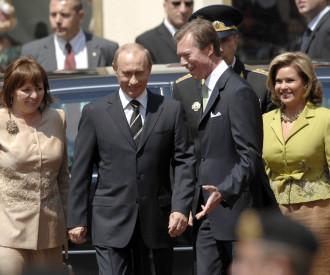 Russian President Vladimir Putin,  Lyudmila Putin