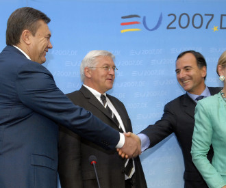 Ukraine Prime Minister Viktor Yanukovich