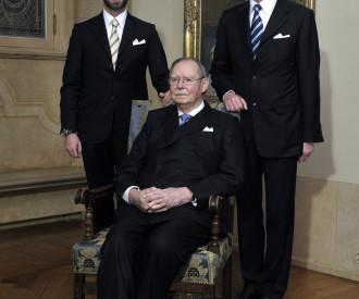 LUXEMBOURG Grand Duke Jean, Prince Guillaume, Grand Duke Henri