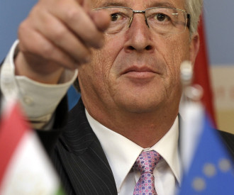 Luxembourg Prime Minister Jean Claude Juncker