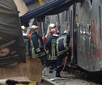 LUXEMBOURG FRANCE TRAIN CRASH 2006