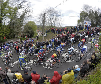 Fleche Wallonne cycling race 2012