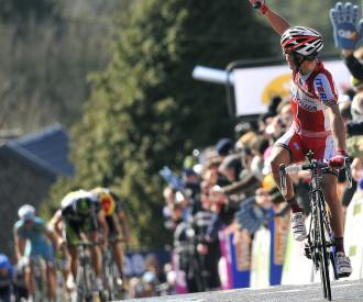 Fleche Wallonne cycling race 2012