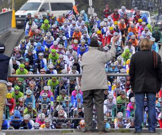 Liege Bastogne Liege cycling race 2013