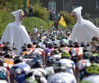 Liege Bastogne Liege cycling race 2011
