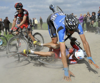Paris Roubaix cycling race 2014