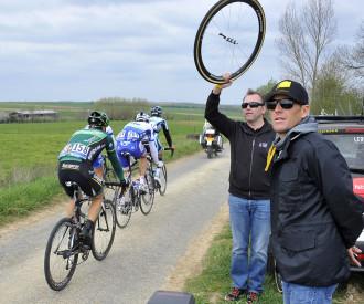 Paris Roubaix cycling race 2013