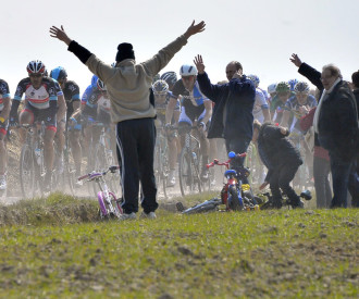 Paris Roubaix cycling race 2013