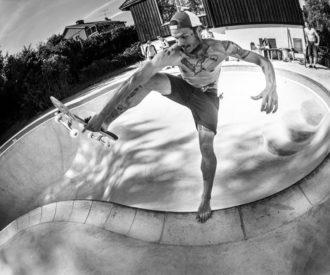 Eddie Lindkvist at Precious pool