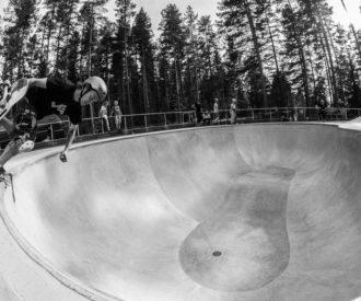 Jartsi Heikkinen at Keljonkangas Pool Jyväskylä